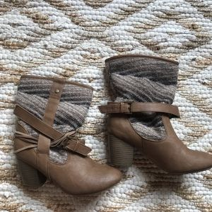 Size 7 booties
